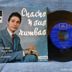 Discos de vinilo: CHACHO Y SUS RUMBAS - TE AMO Y TE AMARÉ + 3 EP ESPAÑOL DEL SELLO REGAL AÑO 1965 DOBLE REFERENCIA. Lote 145803770