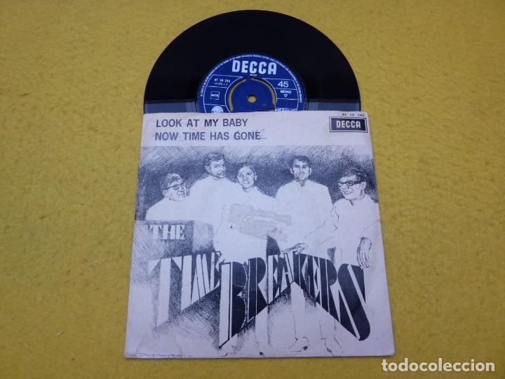 SINGLE THE TIME BREAKERS-LOOK AT MY BABY-ROLLING STONES-Q 65-THEM DECCA Ç (Música - Discos - Singles Vinilo - Pop - Rock Extranjero de los 50 y 60)