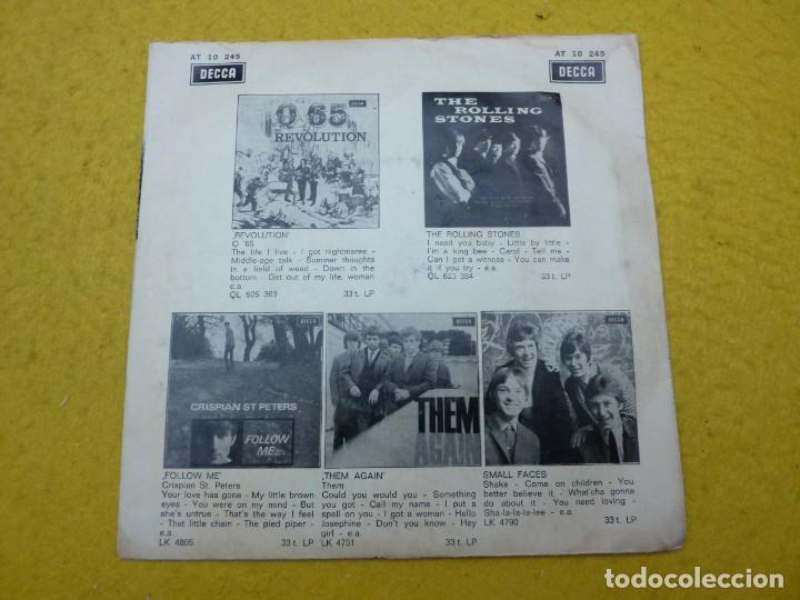 Discos de vinilo: Single The TIME BREAKERS-Look at my baby-Rolling Stones-Q 65-Them DECCA ç - Foto 2 - 145811918