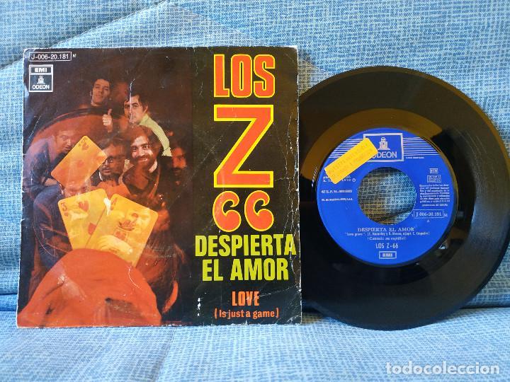 LOS Z 66 - DESPIERTA EL AMOR / LOVE (IT'S JUST A GAME) - RARO SINGLE PROMOCIONAL - BUEN ESTADO (Música - Discos - Singles Vinilo - Grupos Españoles de los 70 y 80)