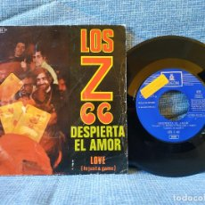 Discos de vinilo: LOS Z 66 - DESPIERTA EL AMOR / LOVE (IT'S JUST A GAME) - RARO SINGLE PROMOCIONAL - BUEN ESTADO. Lote 145811970