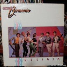 Discos de vinilo: OBJETIVO BIRMANIA - DESIDIA. Lote 151161326