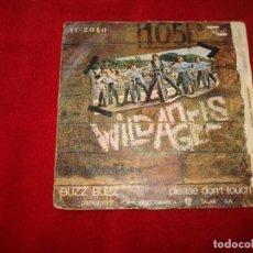 Discos de vinilo: WILD ANGELS BUZZ BUZZ - PLEASE DONT TOUCH 1970 BUEN SONIDO. Lote 145812246