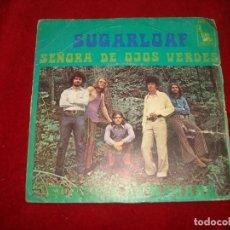 Discos de vinilo: SUGARLOAF SEÑORA DE OJOS VERDES - EL OESTE DE MAÑANA 1970 BUEN SONIDO. Lote 145812382