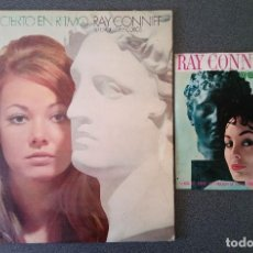 Discos de vinilo: LOTE LP SINGLE RAY CONIFF SU ORQUESTA Y COROS. Lote 145812494