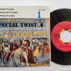 Discos de vinilo: BILL DOGGETT & HIS COMBO - EP SPAIN PS - TOM CAT-TWIST - MEGARARE - WARNER BROS ED. 1404-1. Lote 145820626