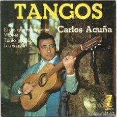 Discos de vinilo: CARLOS ACUÑA - TANGOS (EP) 1962. Lote 145821586
