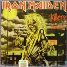Discos de vinilo: IRON MAIDEN - KILLERS = ASESINOS - LP EDICIÓN ESPAÑOLA DE 1981. Lote 145830710