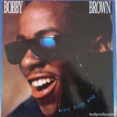 Discos de vinilo: BOBBY BROWN. EVERY LITTLE STEP. MAXI SINGLE ALEMANIA. 3 TEMAS. Lote 145832182