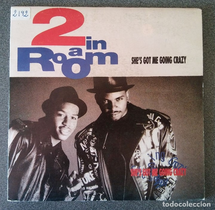 2 IN A ROOM SHE S GOT ME GOING CRAZY (Música - Discos de Vinilo - EPs - Rap / Hip Hop	)