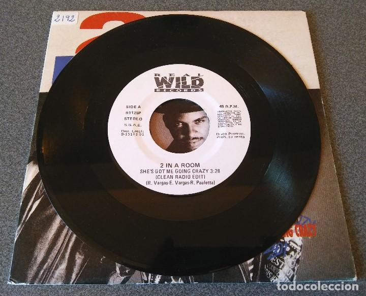 Discos de vinilo: 2 in a Room She s got me going crazy - Foto 2 - 145713966