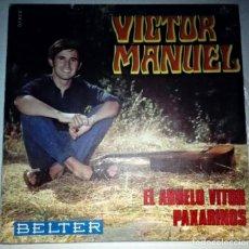 Discos de vinilo: VICTOR MANUEL EL ABUELO VITOR. Lote 145848822
