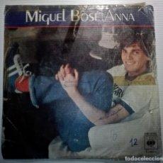 Discos de vinilo: MIGUEL BOSE - ANNA -. Lote 145852250
