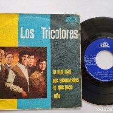 Discos de vinilo: LOS TRICOLORES - EP SPAIN PS - LA MINI MINI / DOS ENAMORADOS / LO QUE PASO / ODIO - BERTA LABEL 1967. Lote 145856098