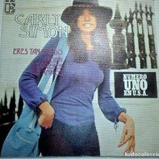 Discos de vinilo: CARLY SIMON - ERES TAN CREIDO -. Lote 145856694