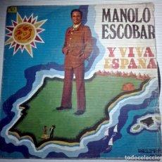 Discos de vinilo: MANOLO ESCOBAR - QUE VIVA ESPAÑA -. Lote 145859642