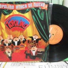Discos de vinilo - Radio topolino orquesta. La topolino ataca de nuevo. Explosión 1982. LP - 145860966