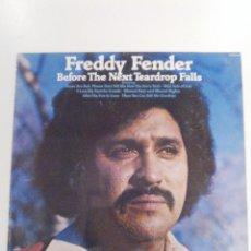 Discos de vinilo: FREDDY FENDER BEFORE THE NEXT TEARDROP FALLS ( 1976 ABC DOT USA ) . Lote 145861394