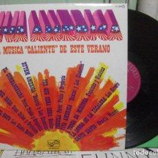 Discos de vinilo: VIVA AMERICA - LA MUSICA CALIENTE DE ESTE VERANO - VARIOS ARTISTAS - 1976 ZAFIRO LP PEPETO. Lote 145861922