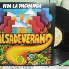 Discos de vinilo: SALSA DE VERANO - VIVA LA PACHANGA - LP ESPAÑOL 1981 - EMI PEPETO. Lote 145862034