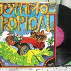 Discos de vinilo: CHOCOLAT'S CHOCOLATS RYTHMO TROPICAL LP 1977 ZAFIRO PEPETO. Lote 145862106