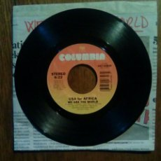 Discos de vinilo: USA FOR AFRICA, WE ARE THE WORLD, COLUMBIA, 1985.. Lote 145864188