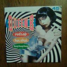 Discos de vinilo: QUEEN B - RED TOP HOT SHOT / GARDENING, LONDON RECORDINGS, 1989.. Lote 145864513