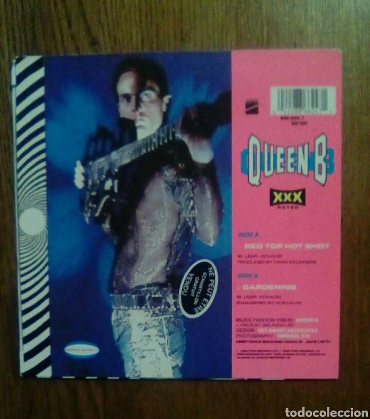 Discos de vinilo: Queen B - Red top hot shot / Gardening, London Recordings, 1989. - Foto 2 - 145864513