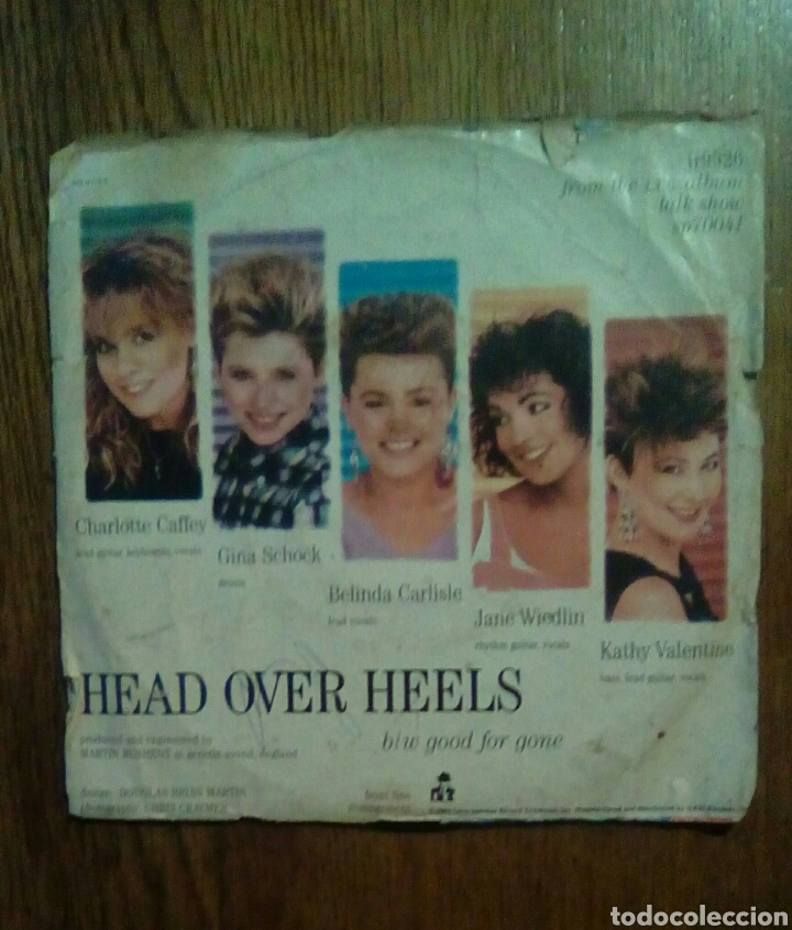 Discos de vinilo: Gogos - Head over heels, 1984. Usa. - Foto 2 - 145864602
