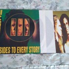 Discos de vinilo: EXTREME / III SIDES TO EVERY STORY - DOBLE LP CON POSTER - MUY BUEN ESTADO. Lote 145872442