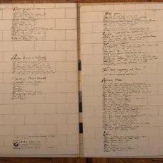Discos de vinilo: PINK FLOYD – THE WALL SELLO: HARVEST – 10 C 166-063410/11 FORMATO: 2 × VINYL, LP, ALBUM, GATEFOLD. Lote 139724162