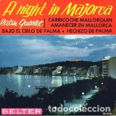 Discos de vinilo: LATIN QUARTET: A NIGHT IN MAJORCA (BELTER 50.692, 1963) LEER DESCRIPCIÓN. Lote 145885726