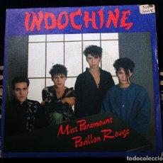 Discos de vinilo: INDOCHINE-MISS PARAMOUNT.PAVILLON ROUGE-ARIOLA MADRID-1983. Lote 145914470