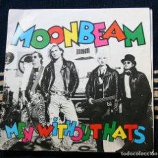 Discos de vinilo: MEN WITHOUT HATS / MOONBEAM . Lote 145914566