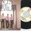 Discos de vinilo: SINGLES VOCES DE SEVILLA A ELLA 1988. Lote 145923790