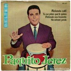 Discos de vinilo: PAQUITO JEREZ ?– MOLIENDO CAFÉ - EP SPAIN 1962. Lote 145925122