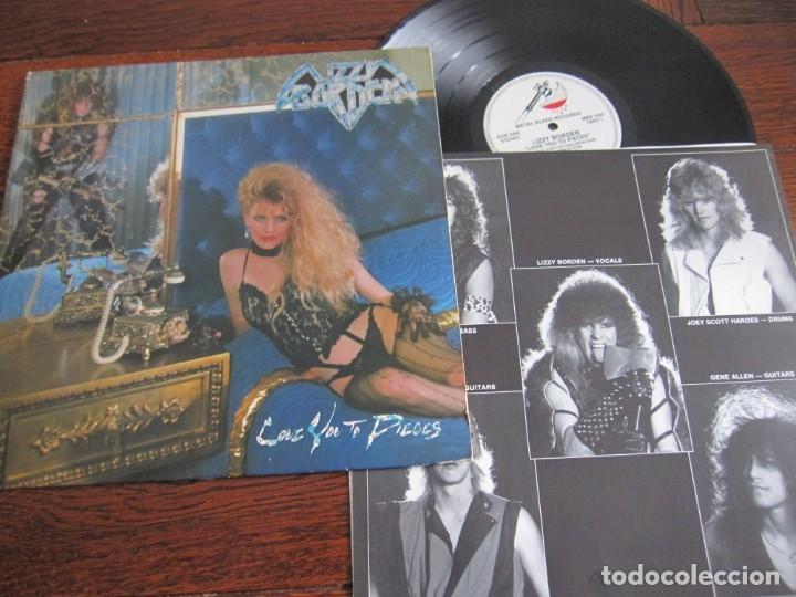 LIZZY BORDEN `LOVE YOU TO PIECES´ 1985. (Música - Discos - LP Vinilo - Heavy - Metal)