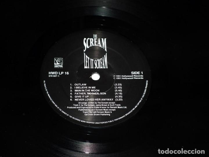 Discos de vinilo: LP THE SCREAM - LET IT SCREAM - Foto 4 - 145957398