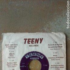 Discos de vinilo: PAUL RICH–ROCK-A-HULA BABY / WALK ON BY - VINYL, 7, SINGLE, 45 RPM. TEENY RECORDS 1962.. Lote 145958405