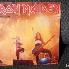 Discos de vinilo: IRON MAIDEN - RUNNING FREE LIVE MAXI 12' VINILO 1985. Lote 145967550