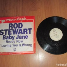 Discos de vinilo: ROD STEWART - BABY JANE - MAXI - GERMANY - IBL - . Lote 145970302