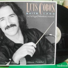 Discos de vinilo: LUIS COBOS - SUITE 1700- LP 1990 CBS CON THE ROYAL PHILHARMONIC ORCHESTRA. NUEVO¡¡ PEPETO. Lote 145981746