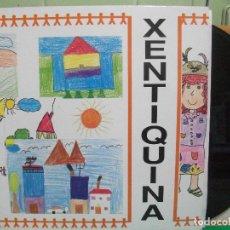 Discos de vinilo: LP XENTIQUINA - FONOASTUR 1988 NEÑUS BABLE ASTURIANO ASTURIAS. Lote 145982558