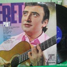 Discos de vinilo: PERET - LA FIESTA NO ESPARA FEOS - LP - AÑO 1967 PEPETO. Lote 145985830