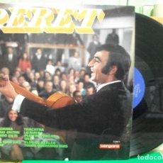 Discos de vinilo: LP. PERET. UNA LAGRIMA / TACATRA. DISCOS VERGARA. 1968 PEPETO. Lote 145986094
