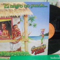 Discos de vinilo: LP. GEORGE DANN - EL NEGRO NO PUEDE NUEVO¡¡ PEPETO. Lote 145988474