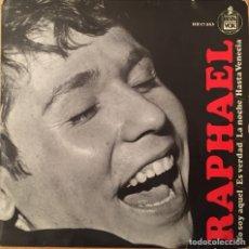 Discos de vinilo: EP RAPHAEL - YO SOY AQUEL +3 (HISPAVOX, SPAIN, 1966). Lote 146005948