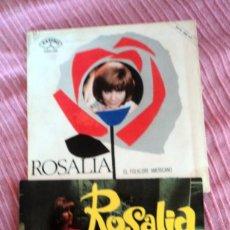 Discos de vinilo: ROSALIA: 2 PORTADAS NUEVAS SIN USO-COLECCIONISTAS. Lote 146008026
