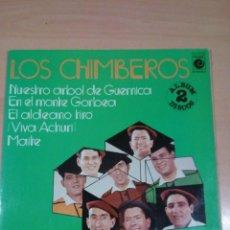 Discos de vinilo: LOS CHIMBEROS --NUESTRO ÁRBOL DE GERNICA -2 LP -BUEN ESTADO - VER FOTOS. Lote 146025902