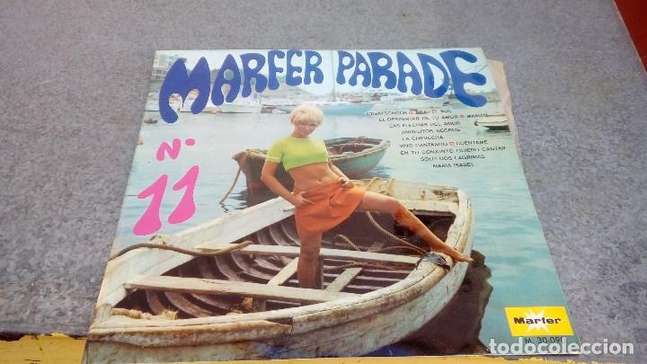 DISCO DE VINILO MARFER PARADE Nº 11 DE 1969 CON BAJO EL SOL, ANGELITOS NEGROS, ETC... (Música - Discos - LP Vinilo - Orquestas)